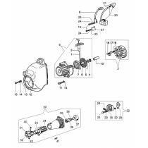Кожух двигателя для мотокосы OLEO-MAC SPARTA 25, EFCO STARK 25