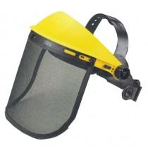 Защитный щиток металлическая сетка для работы с бензопилой и мотокосой