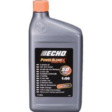 Моторное масло синтетическое для бензопилы и мотокосы. Echo Power Blend