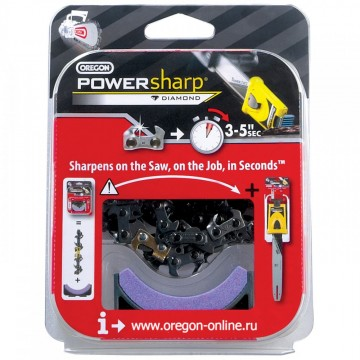 "Цепь + камень ""Power Sharp"" 3/8, 1,3 -50в.з."