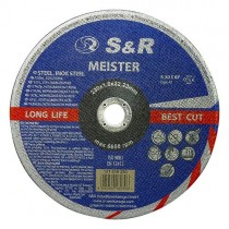 Круг отрезной по металлу и нержавеющей стали S&R Meister A 30 S BF 230x1,8x22,2