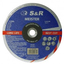 Круг отрезной по металлу S&R Meister A 30 S BF 230x2,0x22,2