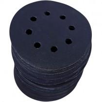Набор шлифлистов S&R 125 мм 70 шт 8 отверстий влагостойкий