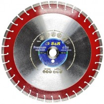 Диск алмазный сегментный S&R Premium Segment 350х25,4 мм