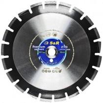 Диск алмазный сегментный S&R Premium Segment 350х25,4 мм (асфальт)