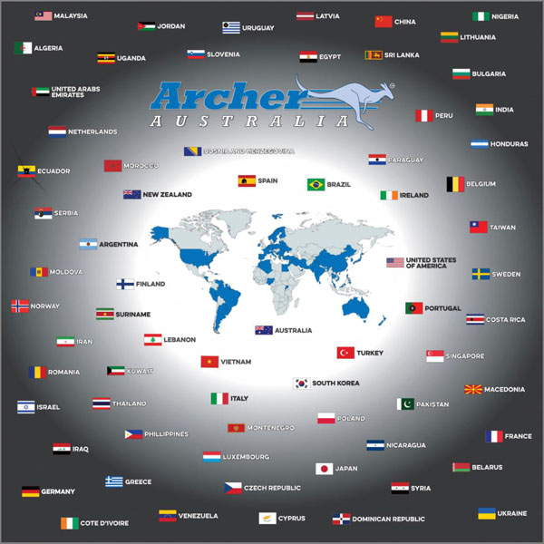 archer flags